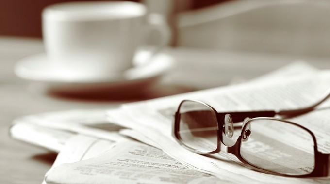 Periodico Gafas Cafe 1
